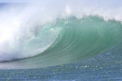 Onda del sur hawaiana de la orilla Fotos de archivo