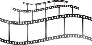 Onda del tripple h de la película de Whita ilustración del vector