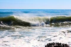 Onda dell'alto mare Fotografia Stock Libera da Diritti