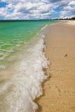 Onda della spiaggia di Punta Sur Fotografia Stock