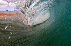 Onda della spuma dell'oceano fotografia stock
