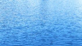 Onda di acqua blu Fotografia Stock