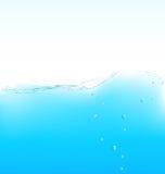 Onda di acqua di purezza. Immagini Stock