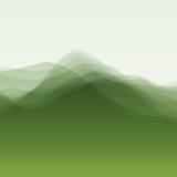 Onda di acqua Illustrazione di vettore per la vostra acqua dolce di design illustrazione di stock