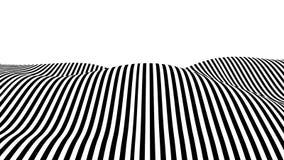 Onda di illusione ottica illustrazione di stock