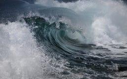 Onda di oceano Immagini Stock Libere da Diritti