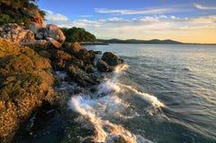 Onda di oceano Fotografie Stock Libere da Diritti