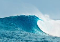 Onda di oceano blu Immagine Stock Libera da Diritti