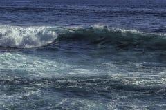 Onda di oceano blu Immagine Stock