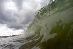 Onda di oceano durante la tempesta Fotografia Stock