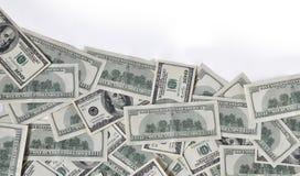 Onda di soldi Fotografia Stock