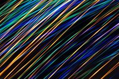 Onda digital abstrata iluminada da incandescência Imagens de Stock Royalty Free