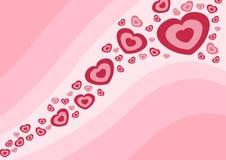 Onda do amor Imagens de Stock Royalty Free