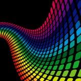 Onda do arco-íris ilustração stock