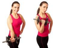 Onda do bíceps Foto de Stock