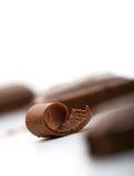 Onda do chocolate Fotos de Stock