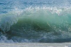 Onda do mar Onda grande Sandy Beach foto de stock