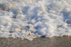 Onda do mar Onda grande Sandy Beach fotografia de stock