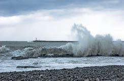 Onda do Mar Negro Fotografia de Stock