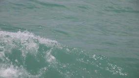 Onda do mar no oceano azul video estoque