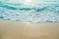 Onda do oceano sobre Foto de Stock Royalty Free