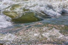Onda do rio Fotografia de Stock Royalty Free