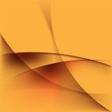 Onda dourada Imagens de Stock