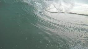 Onda en el mar almacen de video