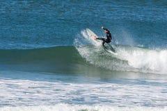Onda en Joaquina Beach Fotos de archivo