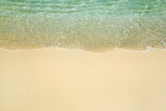 Onda en la playa fotos de archivo