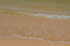 onda en la playa, hin Tailandia de hua Foto de archivo