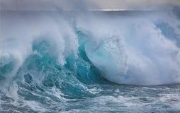 Onda en Océano Atlántico Foto de archivo libre de regalías