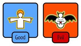 onda goda symboler Arkivbild