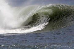 Onda hawaiana di Southshore fotografia stock libera da diritti