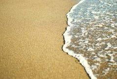 Onda macia do mar na praia Fotos de Stock Royalty Free