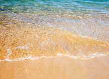 Onda macia do mar no Sandy Beach Foto de Stock Royalty Free