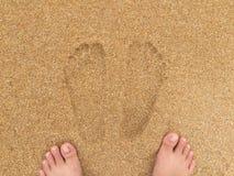 Onda macia do oceano azul no Sandy Beach Imagem de Stock Royalty Free