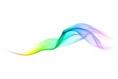 Onda multicolore astratta Fotografia Stock Libera da Diritti
