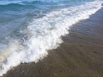 Onda na praia Fotografia de Stock Royalty Free