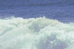 Onda na praia do mar Foto de Stock