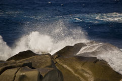 Onda in Sardegna Fotografie Stock Libere da Diritti