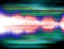 Onda sonora 3 Fotografie Stock Libere da Diritti