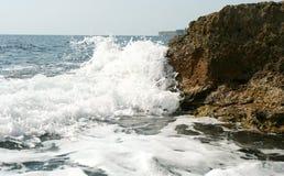 Onda sul mare Fotografia Stock