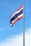Onda tailandesa de la bandera Foto de archivo