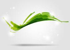 Onda verde Imagen de archivo