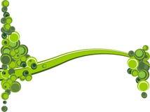 Onda verde stock de ilustración