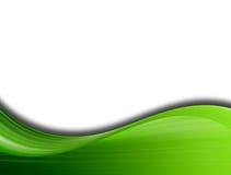 Onda verde fotografia de stock