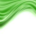 Onda verde abstracta Imagen de archivo libre de regalías