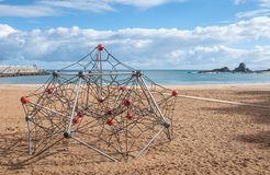 Ondarroa strand Royalty-vrije Stock Afbeelding