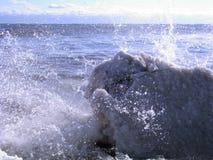 Ondas 04 del hielo Imagenes de archivo